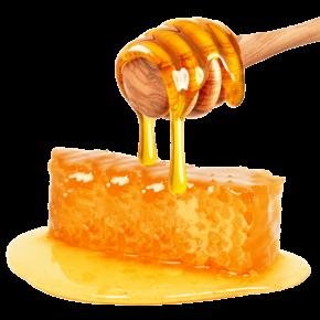 عسل موم دار