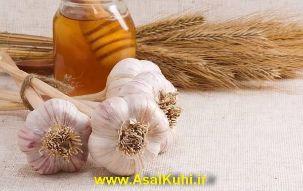 خواص مصرف سیر با عسل